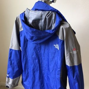 The North Face Jackets & Coats - The North Face blue Gore-Tex XCR (MEN)